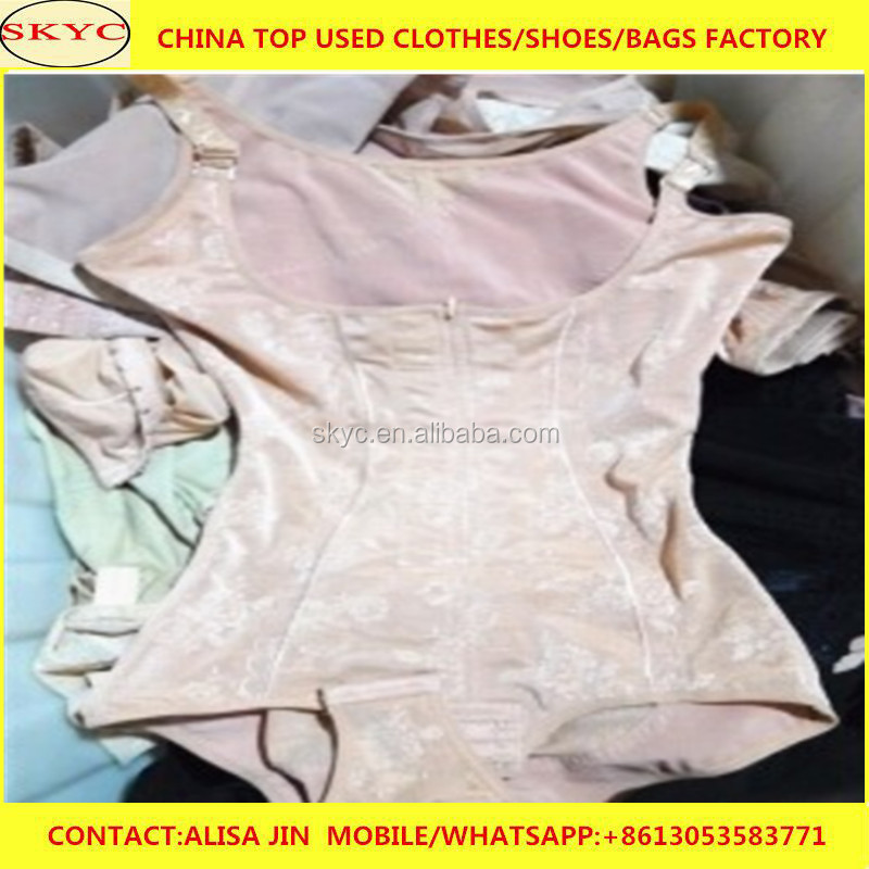 used clothes ladies items girdle summer used clothing bales best selling product for Africa buyers