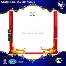 High quality launch 2 post lift launch tlt235SB floor plate two post car lift
