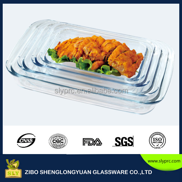 GLASS OVEN DISH:3.0L+2.2L+1.6L 3 IN ONE SET