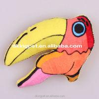 Eco-friendly Pet Toys Cat Toys Plush Bird Parrot Toy