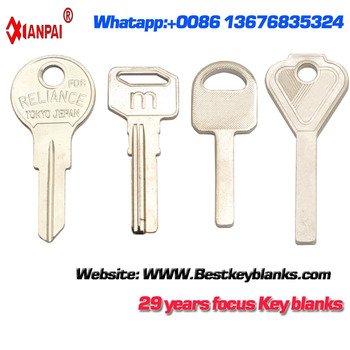 F354 Factory Supplier Brass House key blanks Wholesale in yiwu