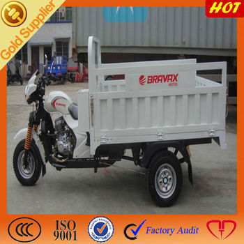 DUCAR New Type Gas Tricycle with 3 Wheeler for open cargo