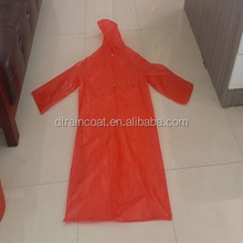 Foldable waterproof Bicycle camping travling PVC raincoat rain poncho