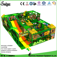 Xiaofeixia Latest Castle Jungle Cabin Theme Indoor Playground Equipment