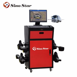 CCD wheel aligner/vehicle auto data software 3d wheel aligner/3d four wheel aligner(SS-WA940-X1)