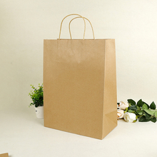 kraft marron bolsa de papel bag
