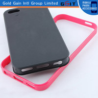 Case For iPhone 5C, 2 in1 TPU & PC Hard Back Cover Case For iPhone 5C