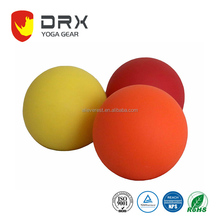 Logo Print Rubber Massage Ball Muscle Fascia Ball Lacrosse Ball