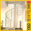 indoor iron spiral stairs/indoor spiral stairs