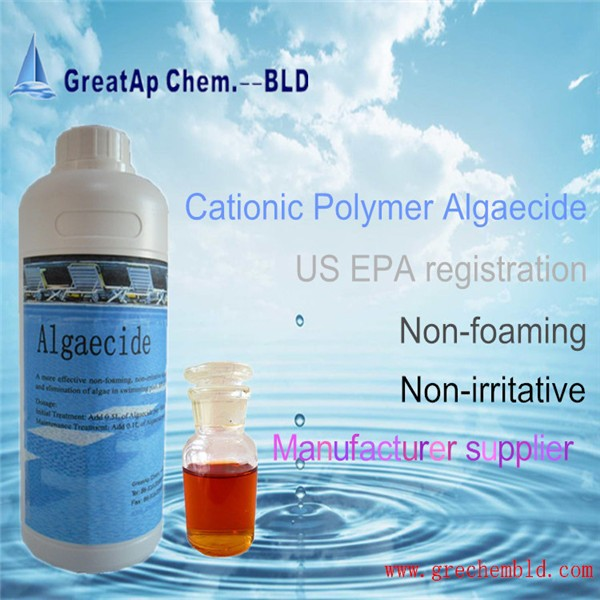 EPA Registration Cationic Polymer swimming pool Algaecide CAS 31512-74-0
