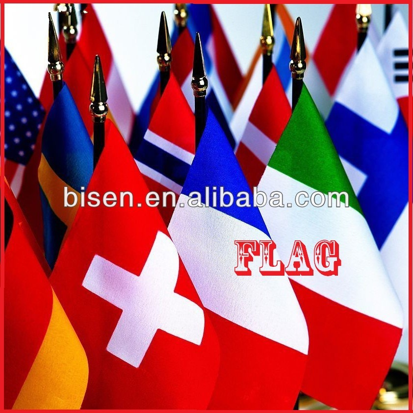 Supplier for all kinds of car flag &Polyester hand flag & beach flag
