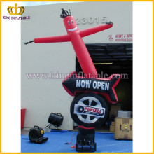 Custom shape sky dancer, inflatable advertising logo air dancer, inflatable waving men