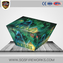 Hot liuyang wholesale display salute thunder fireworks cake
