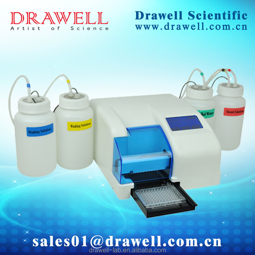 DRAWELL BRAND Microplate elisa mciroplate washer for diagnostic elisa kits
