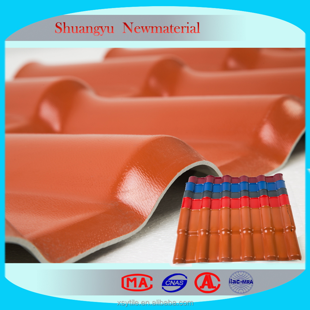 China Synthetic Resin Roofing Sheet Tile