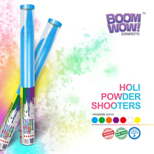 Boomwow colourful party holi powder shooter
