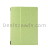 Diamond Texture Tri-Fold Leather Flip Case for iPad Air /for iPad 5