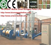 TN-ORIENT Mobile Biomass Small Pellet Plant without Dryer