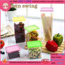 Eco friendly multi dimension hot selling plastic food preservation box Storage container