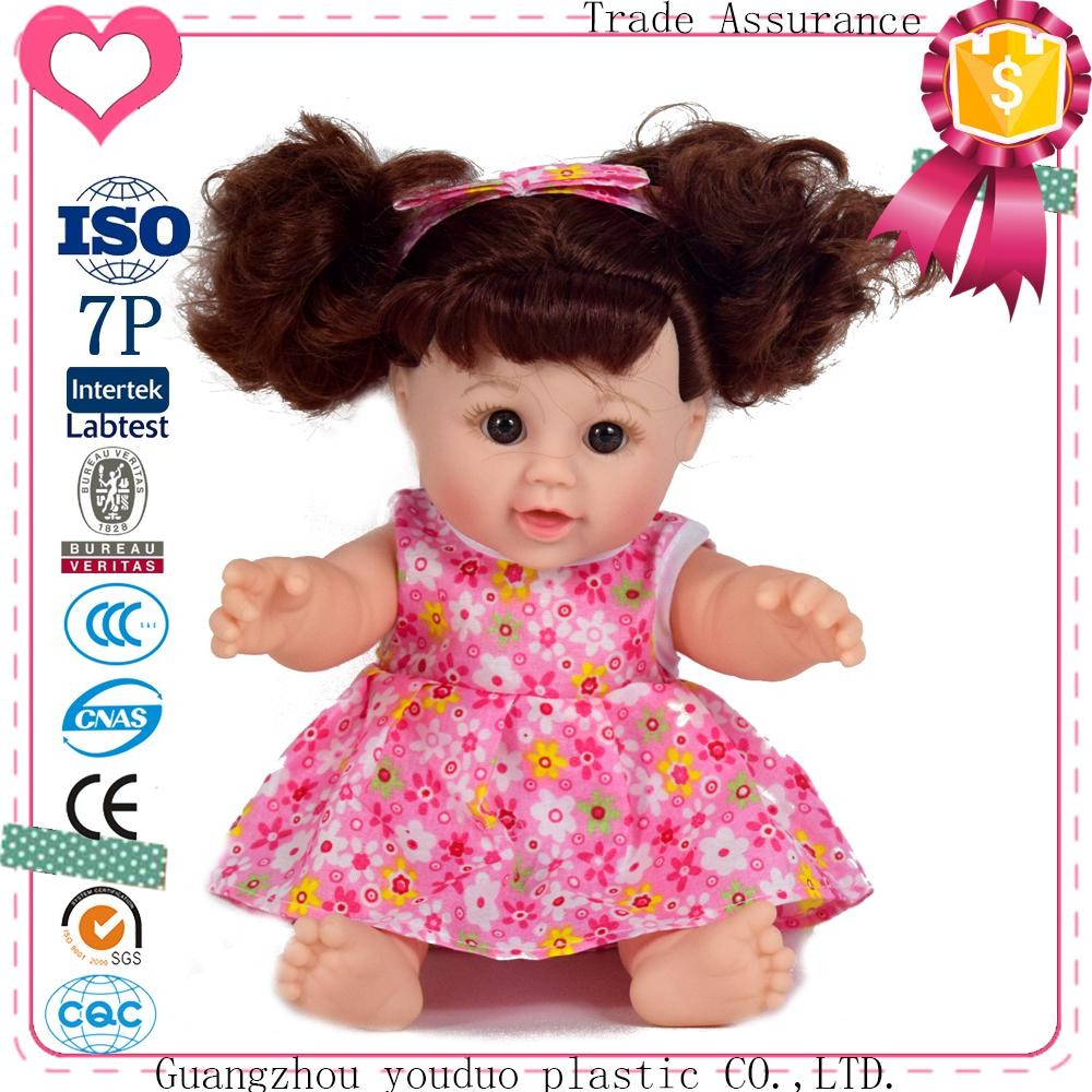2017 Wholesale custom plastic best selling dress up lifelike baby doll for kids
