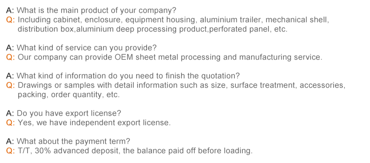 OEM Precision Steel Fabrication Works For Metal Plate