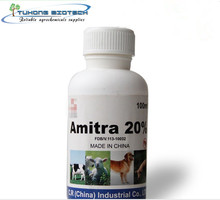 Insecticide Amitraz 12.5% EC, 125g/l EC with factory price CAS 33089-61-1