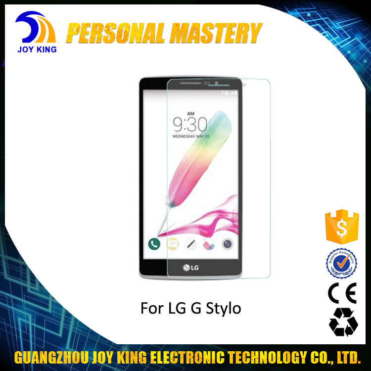 Joy King Newest Product 2.5D Curved Tempered Glass Screen Protector For LG G Stylo / G Pro Lite / X Power / X Fast