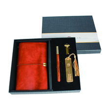 2019 new ideas items pen with usb customised yearly diary agendas corporate executive gift sets