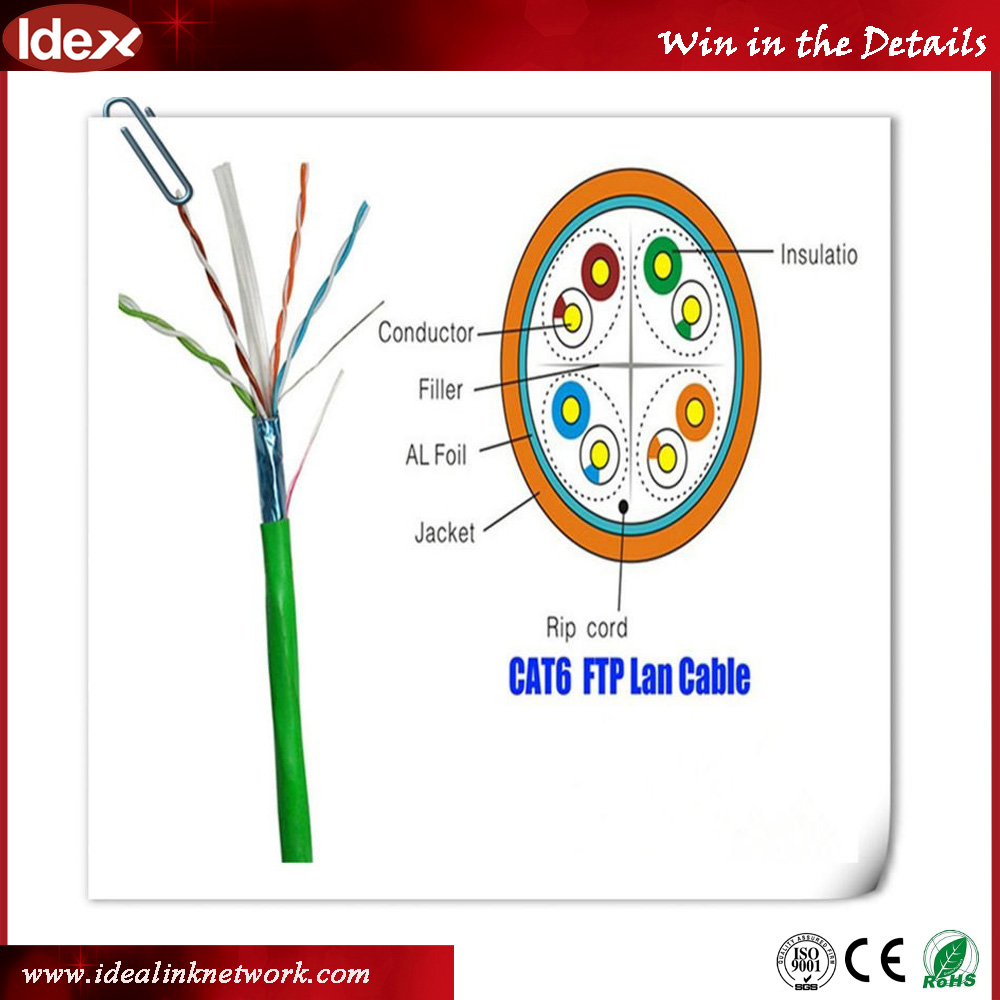 SIPU factory price new pvc 23awg copper 305m utp cat6 network cable best utp cable cat6 price wholesale cat 6 cable