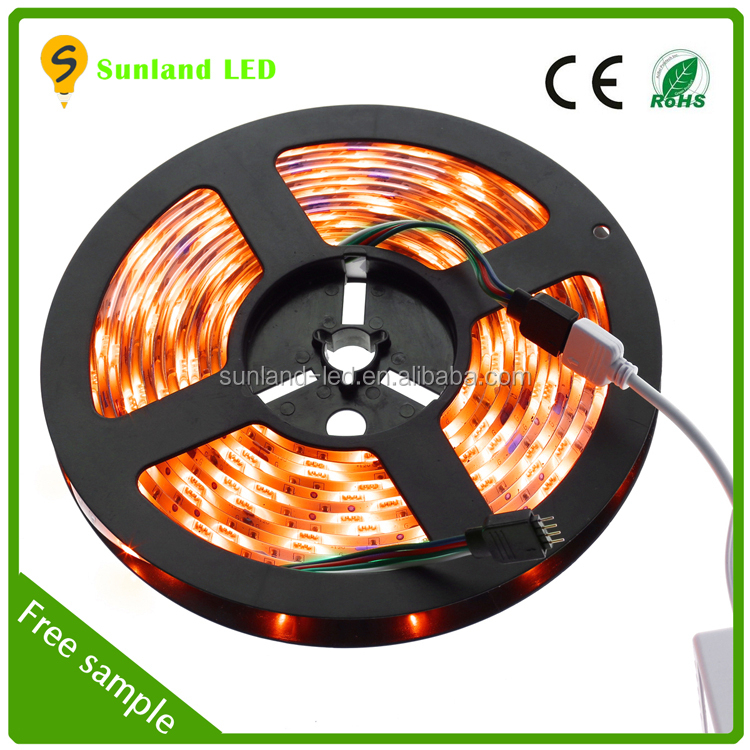small battery operated led strip light 5050 waterproof 150leds led strip lighting