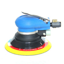 "6"" Pneumatic Polisher PSA or Hook Loop Pad High Speed Self-Vacuum Round Air Dual Action Sander Random Orbit Air Sander"