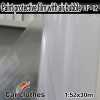 High Quality 1.52x30m Car Stickers And Decals Vinyl Rolls Transparent Film