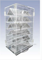 Clear Jewelry Acrylic Stand Display Case
