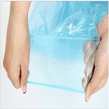Wholesale Colored Star Sealed Bottom Plastic Trash bags Garbage Bag