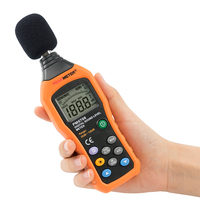 Top Sale 30 to 130 DB Auto and Manual Range Digital Sound Level Meter Price