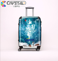 2015 Colorful Sky Travel Luggage For Men Travel/zip Lock Bags Trolley For Hotel/China Guangdong Factory Luggage