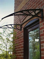 polycarbonate door awnings lowes canopy