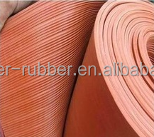 Best price!!! New Fine Thin Narrow Ribbed rubber sheet roll