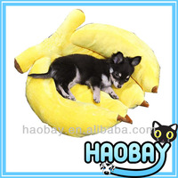 Banana Shaped Cozy Craft Luxury Pet Dog Beds