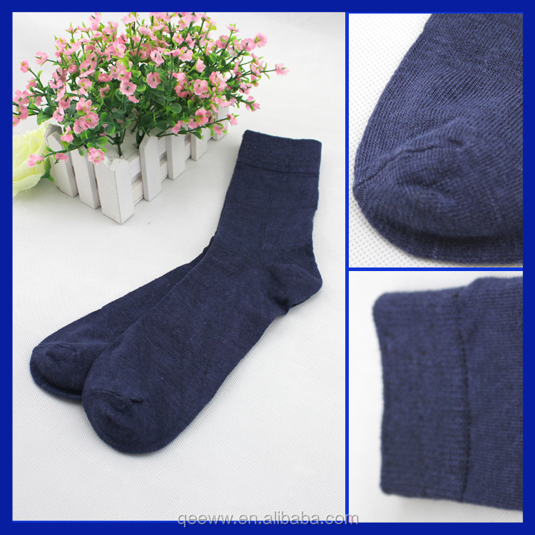 2015 wholesale combed cotton foot toe and sole enhance american size crew socks