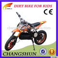 2017 newest electric dirt bike with 500w for kids