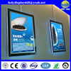 advertising battery powered led picture frame lighting,crystal light box