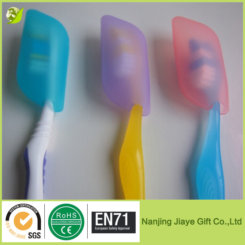 Fancy silicone toothbrush head cover case for tavelling