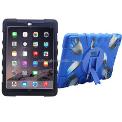 Waterproof case for ipad air , Shockproof case for ipad air , Silicone case for Ipad Air 2