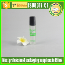 Empty 7ml Roll On Bottles Clear Glass Refillable Perfume Oil Roller Ball Bottle