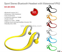 2014 New Fashionable Sport bluetooth Headset earphone