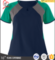 Round neck Medical uniform scrub uniform top