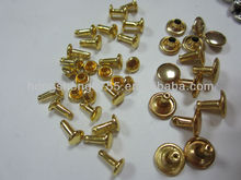 manufacturing cheap double cap rivets/ double side rivets