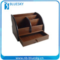 Customized new creative wooden pen holder