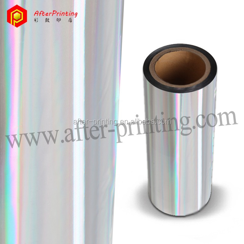 Hologram Silver Thermal Lamination Film
